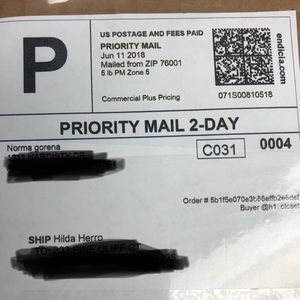 Other - Receipt for tracking